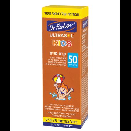 אולטרסול KIDS לילדים קרם פנים SPF50