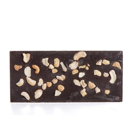 טבלת שוקולד מריר עם קשיו