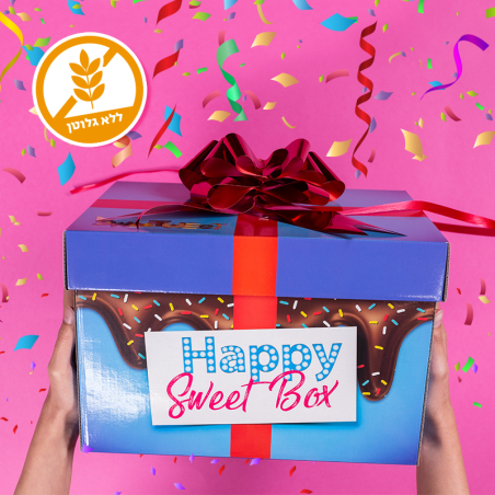 happy sweetbox - ללא גלוטן  (L)