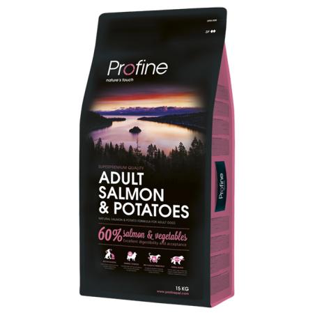 פרופיין - מזון יבש לכלבים בוגרים, סלמון ותפוחי אדמה                  15 קילו -  profine