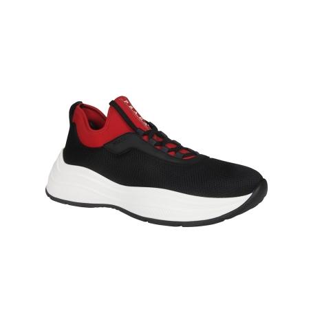 PRADA- mesh panel sneakers