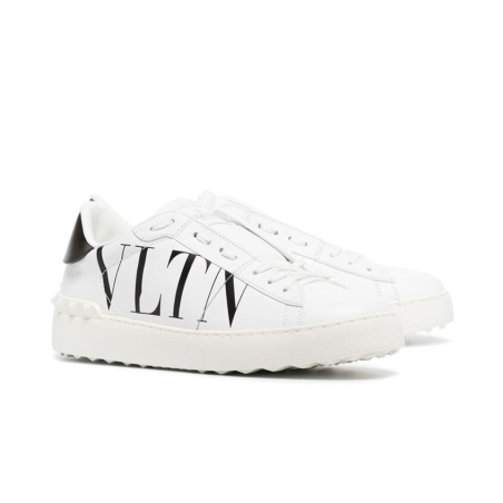 VALENTINO - OPEN SNEAKER WITH VLTN LOGO