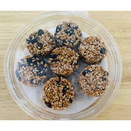 עוגיות פיצוחי שקדים וחמוציות ללא תוספת סוכר