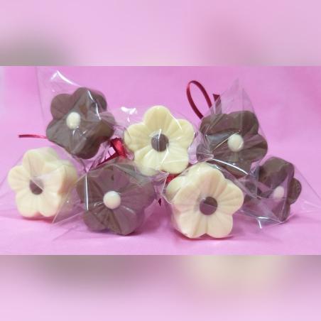 פרחים משוקולד