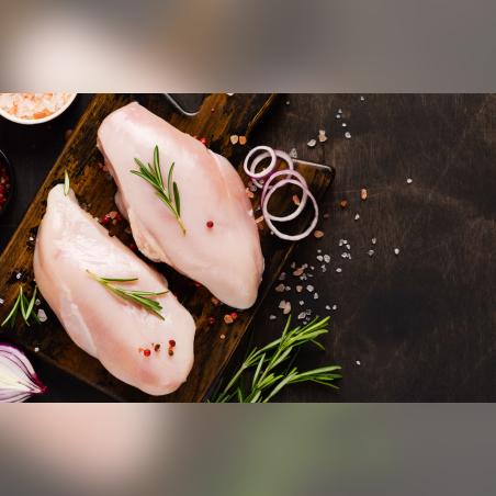 חזה עוף חצוי--пол-грудинки