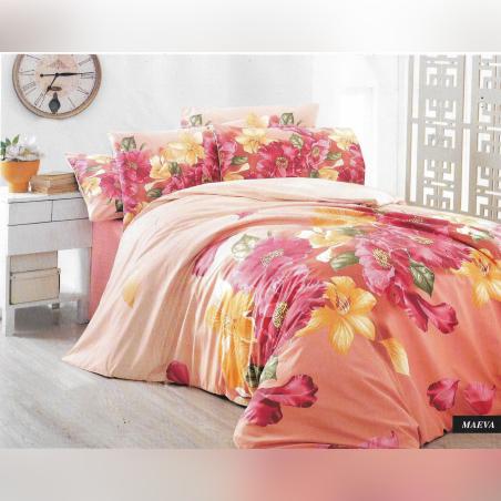 סט מצעים למיטת יחיד סתיו 100% כותנה