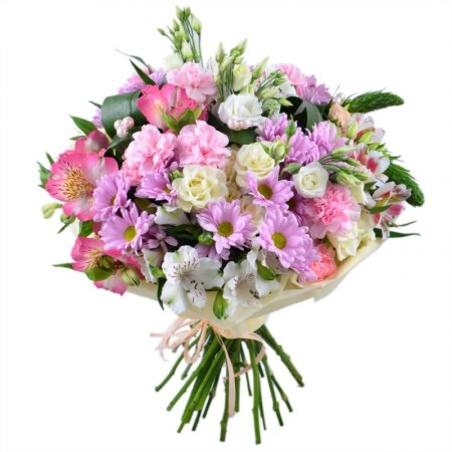 זר סגול עם ורדים, אלסטרומריות וליזיאנטוסים #1