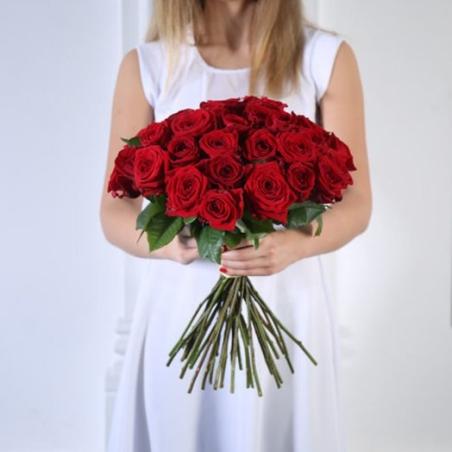 זר ורדים אדומים 'ארגמן' #20