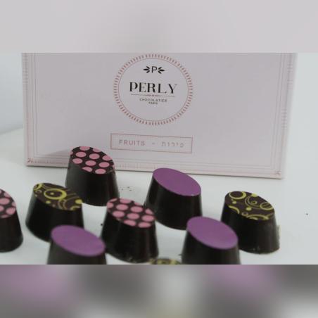 פרלינים - שוקולד ממולא פירות 9 יחידות