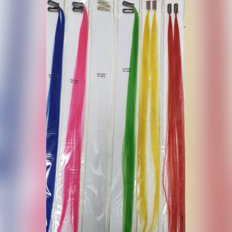 פסי שיער סינתטי צבעוני