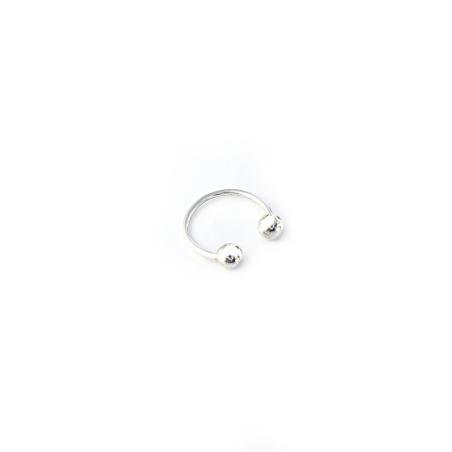 טבעת פירסינג- כסף 925