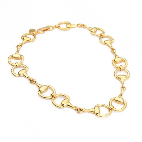 שרשרת פרסות - זהב