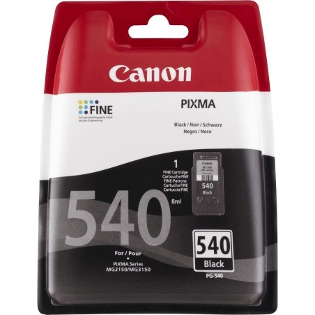 ראש דיו שחור מקורי CANON 540XL