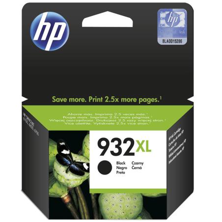 ראש דיו שחור מקורי HP 932XL