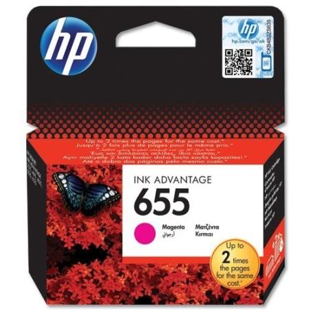 ראש דיו אדום מקורי HP 655