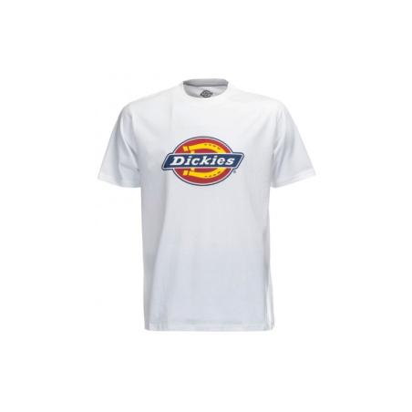 Dickies - טי שירט לוגו קלאסית בלבן