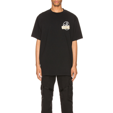 OFF-WHITE -TAPE ARROWS S/S T-SHIRT -BLACK