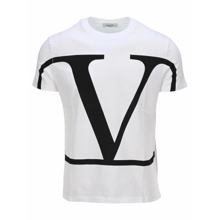 VALENTINO - VLogo t-shirt in white