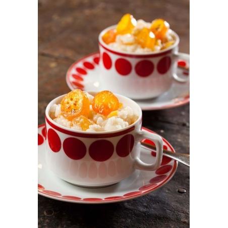 ריזוטו מתוק בטעם תפוזים מסוכרים