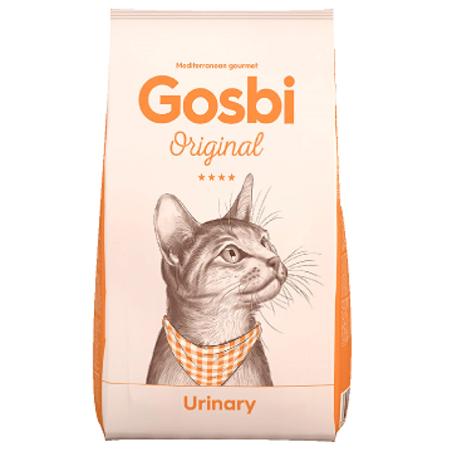 GOSBI ORIGINAL גוסבי אוריג'ינל חתול בוגר יורינרי 3 ק