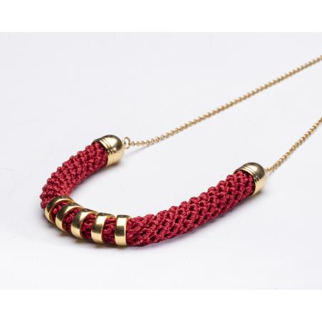 שרשרת מירה   תכשיט קשת   תכשיט אדום & זהב