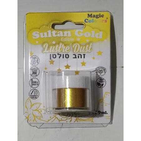 אבקת איבוק נוצצת מגיק קולורס - זהב סולטן