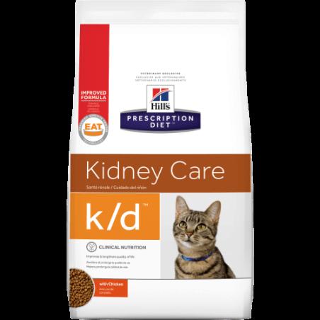 Hill's Prescription Diet K/D הילס K/D מזון רפואי לחתול 5 ק