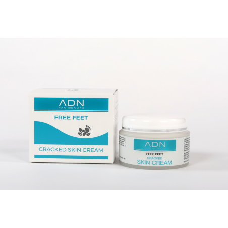 קרם לכף רגל יבשה וסדוקה (50 מ'ל) - פאני בן עמי - ADN- FREE FEET CRACKED SKIN CARE