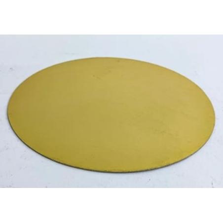 תחתית צד זהב צד שחור קוטר 18 - 10 יחידות