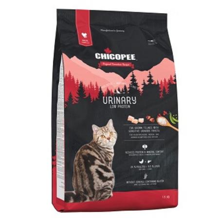 CHICOPEE URINARY צ'יקופי יורינרי מזון יבש לחתול בוגר לתמיכה בדרכי השתן 1.5 ק