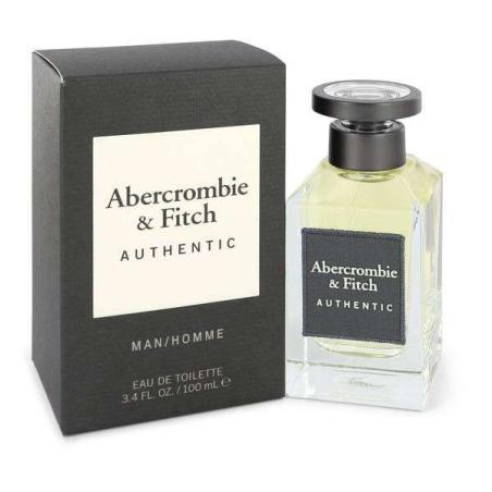 בושם לגבר אברקרומבי  אוטנטיק Abercrombie Fitch Authentic EDT 100 ML