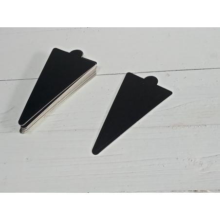 תחתית קינוחים משולש שחור