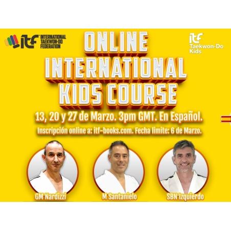 CURSO INTERNACIONAL DE KIDS EN LINEA EN ESPANOL
