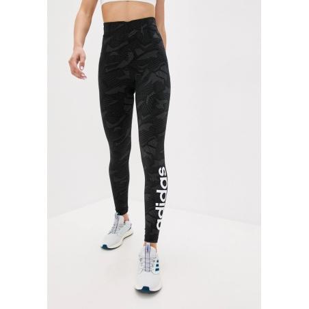 טייץ אדידס לנשים | Adidas Essemtials Allover Print Tights