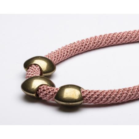 שרשרת נירית | תכשיט ורוד & זהב עתיק