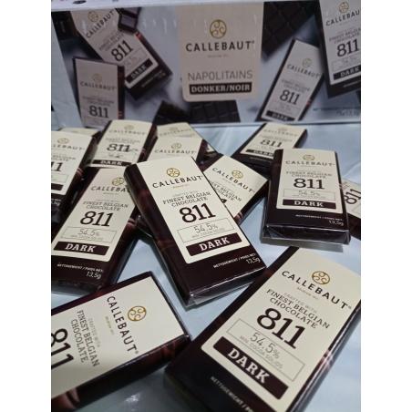 10 יח' שוקולד נפוליטנים מריר של CALLEBAUT