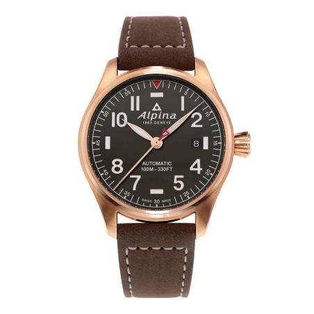 שעון Alpina Startimer Pilot Automatic Dark Grey Dial