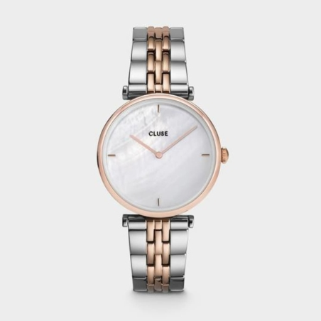 Triomphe Steel White Pearl, Rose Gold Colour