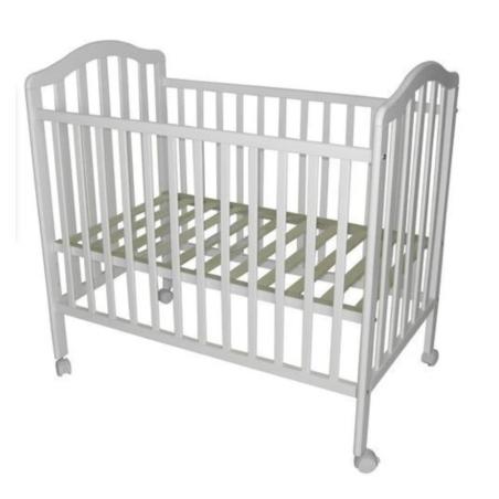 מיטת תינוק מטר לבנה + מזרון בייבי כל