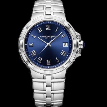 Parsifal Men's Quartz Classic Blue Dial 5580-ST-00508