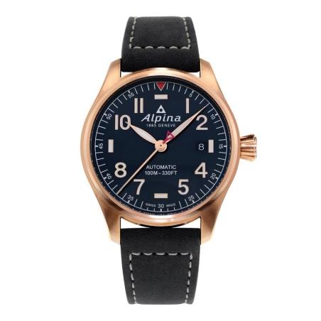 שעון Alpina Startimer Pilot Automatic Navy Blue Dial