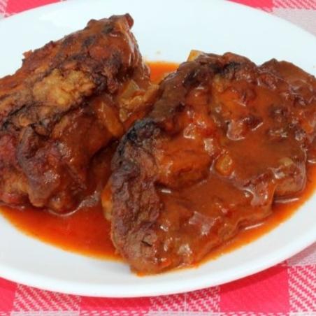 מוסקה - חציל ממולא בשר