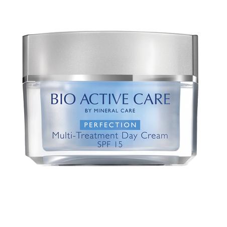 BIO ACTIVE קרם יום , SPF 15 מסדרת PERFECTION לכל סוגי העור, מ