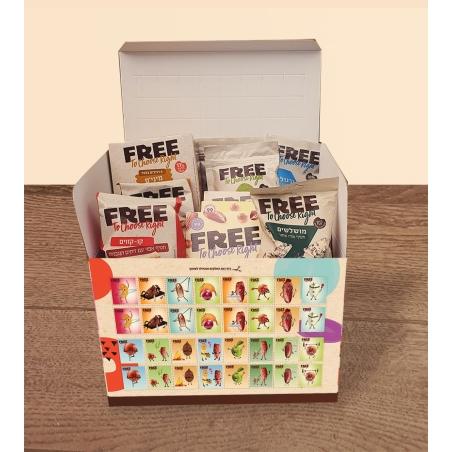 מארז FREE עם משחק זיכרון ומוצרים לכל המשפחה