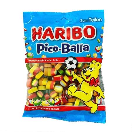 Haribo Pico Balla עיגולי גומי בטעם פירות 175 g