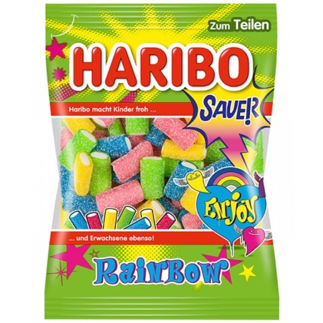 Haribo rainbow SAUER גומי פירות חמוץ 175 g