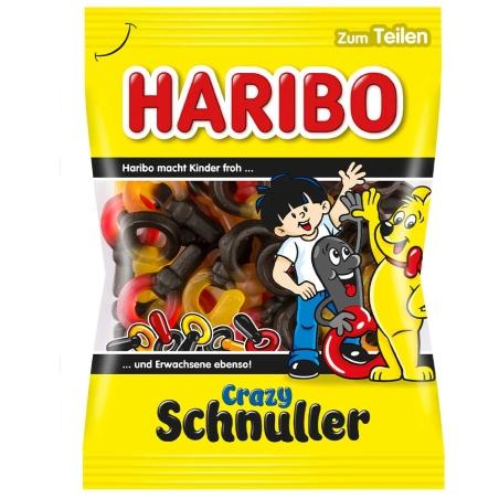 Haribo crazy schnuller טבעות בטעם פירות 175 g