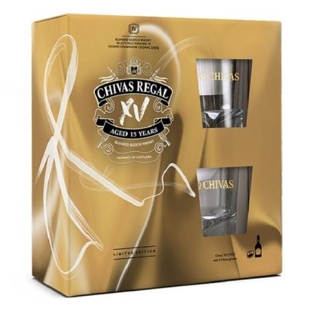 מארז שיבאס XV + כוסות