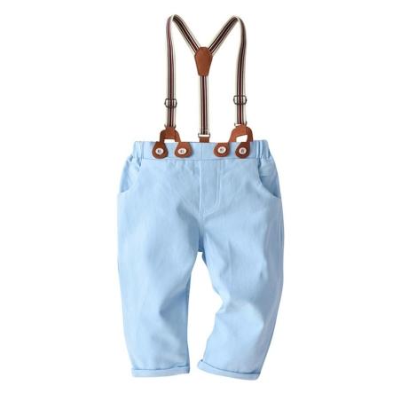 מכנסיים ביריות צבע כחול