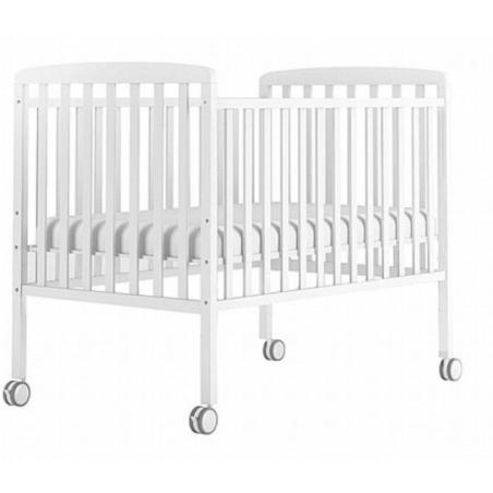 מיטת תינוק מטר דניאל לבנה + מזרון
